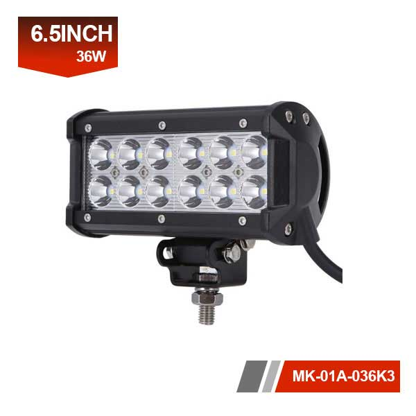 36w cree 12 volt led light bar