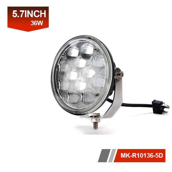 6inch 36W 5D led work light