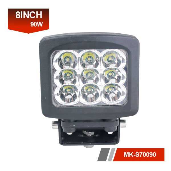 8inch 90W 3D led work light