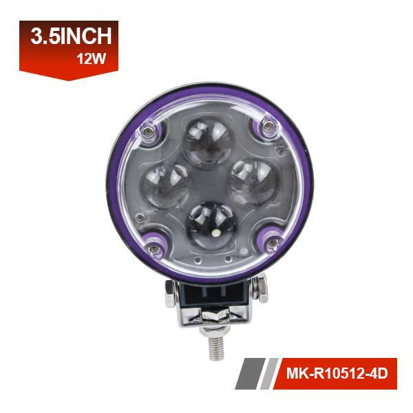3inch 12W 4D led work light