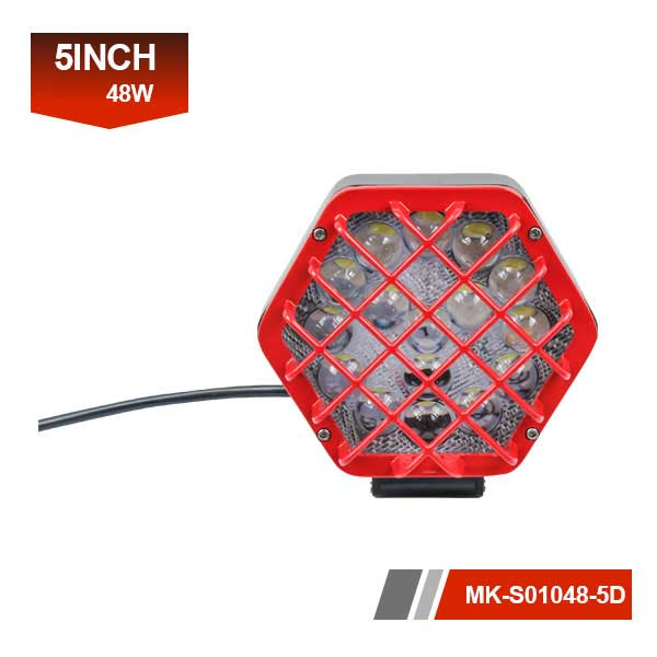 5inch 48W 5D led work light