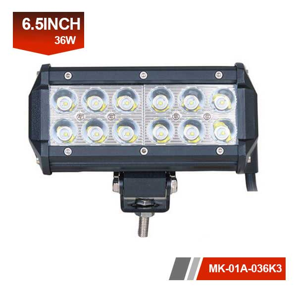 7 inch 36W 3D led light bar