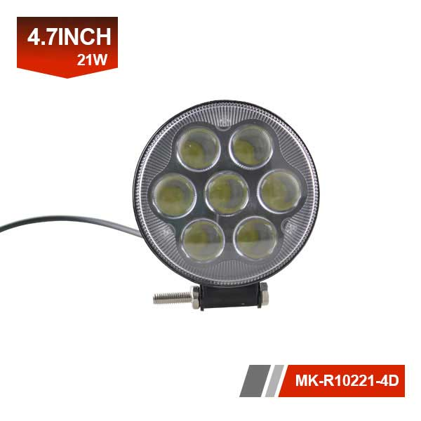 5 inch 21W 4D led work light