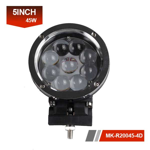 5 inch 45w 4D led work light
