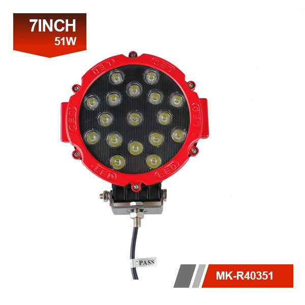 7 inch 51w led work light