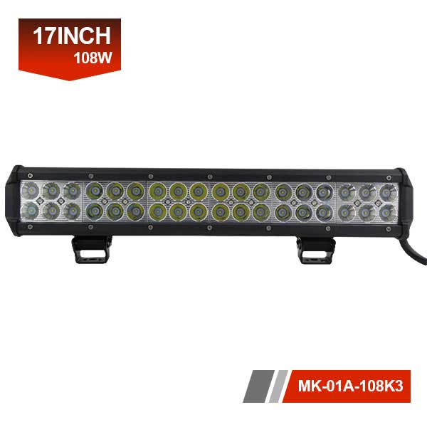 17 inch 108w CREE led light bar