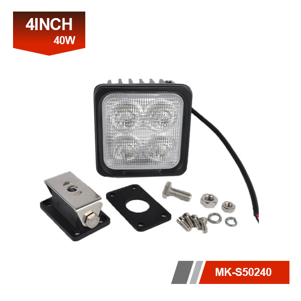 4inch 40W 3D led work light