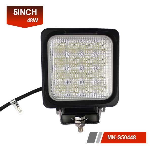 5inch 48W 3D led work light
