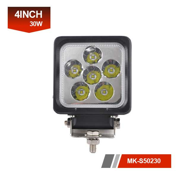 4inch 30W 3D led lights for motorcycles