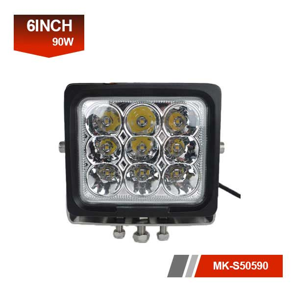 6inch 90W 3D led work light